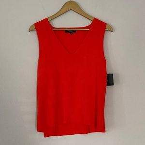 NWT Rachel Roy Collection Red Tank Top Size Large